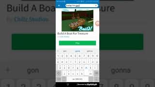 Redeem codes in 'Build a boat for treasure' (BABFT) | Roblox