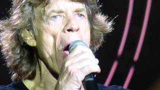 "Rolling Stones ""Miss You"" Minneapolis,Mn 6/3/15 HD"
