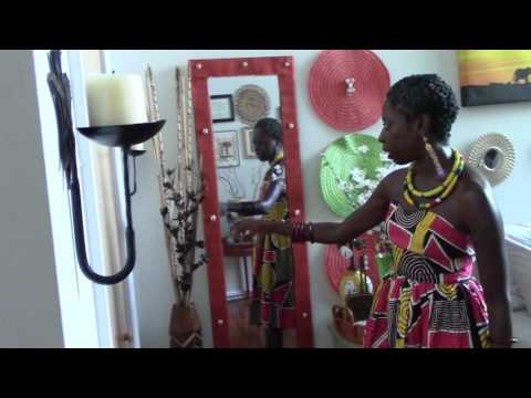 Home Decor Afrocentric Style! How to Promote Partnership!
