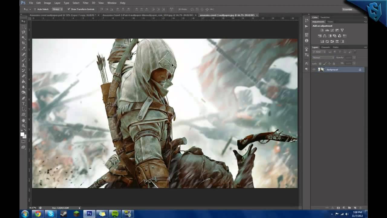 Assassins Creed 3 Wallpaper Speedart