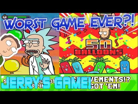 Jerry's Game – WORST GAME EVER?! – Just Pop The Balloons!