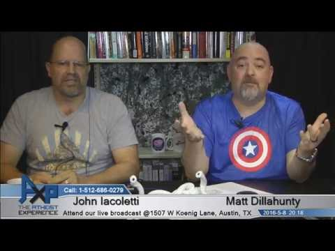 Atheist Experience 20.18 with Matt Dillahunty and John Iacoletti