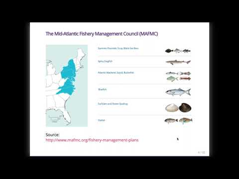There Is No I In EAFM Adapting Integrated Ecosystem Assessment For Mid Atlantic Fisheries Management