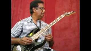 Maate manthramu (kadhal oviyam) on guitar by Vijayaraj
