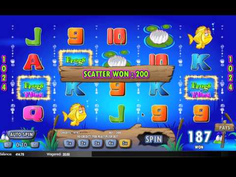 Frogs N Flies Slot Bonus Round