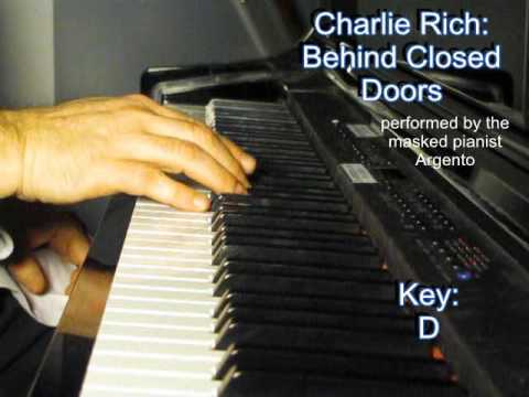 Argento plays Charlie Rich - Behind closed doors