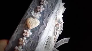 Album mariage gris & blanc