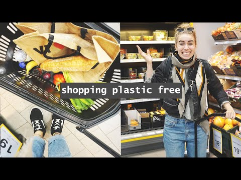 I TRIED ZERO WASTE SHOPPING IN NETTO // Hard Level Meal Challenge