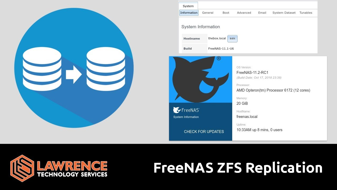 FreeNAS ZFS Replication on 11 1 and 11 2 from multiple servers, ZVOL and  Datasets