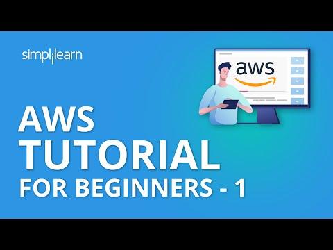 AWS Tutorial For Beginners - Lesson 1 | AWS Training Videos | Simplilearn