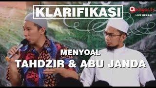 Klarifikasi : Ustadz Adi Hidayat & Ustadz Felix Siauw Menyoal Tahdzir & Abu Janda (FULL KAJIAN)