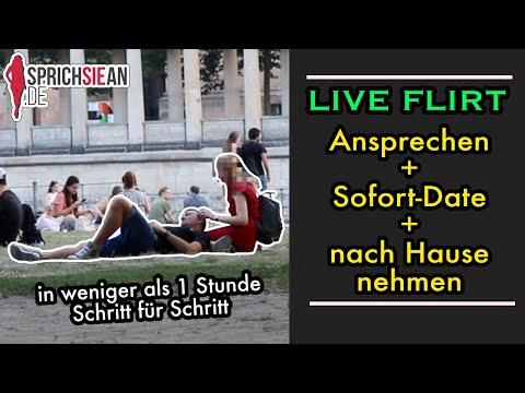 LIVE FLIRT - Kompletter Live-Flirt: Vom Ansprechen über's Sofort Date Bis Nach Hause - INFIELD