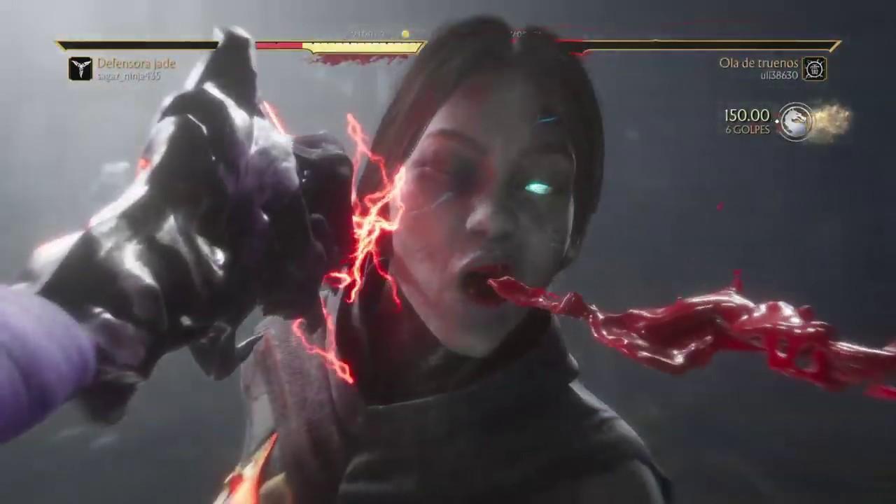 Mortal Kombat 11 - Master Rank! Kombat League Season 8 - Jade Eternal Friend Skin