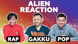 Alien Reaction   Smit, Bonapart, Гамза-Заде, Асет & Gakku