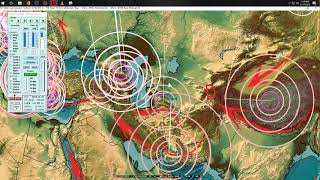 11/17/2018 -- United States Earthquake activity -- Pacific, Asia, and Europe unrest spreads