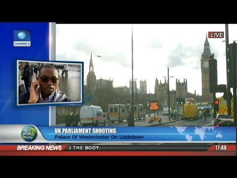 UK Parliament Shooting: Palace Of Westminster On Lockdown Pt 3