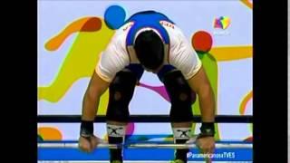 Actuación de Junior Sánchez en Juegos Panamericanos 13/07/2015