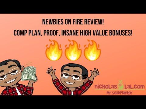 Newbies On Fire Review, Compensation Plan, AMAZING Bonuses!