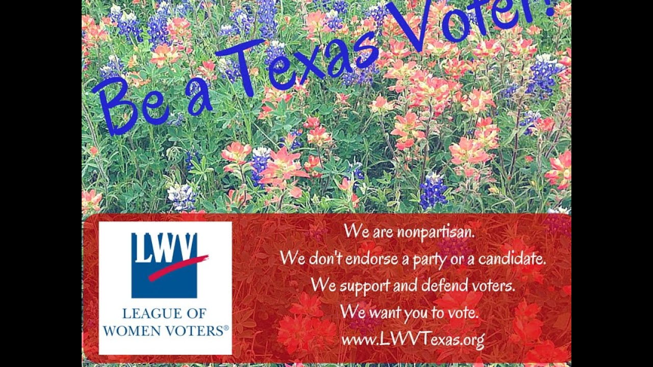 Voter and Election Information - LWV of Texas