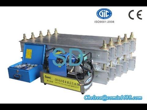 SD rubber conveyor belt vulcanizing machine water cooling system