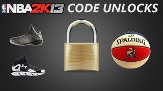 NBA 2K13 Cheat Codes Unlocks | ABA Ball - Torch Shoes - Spine Bionic Shoes - +3 Dribbling Moves