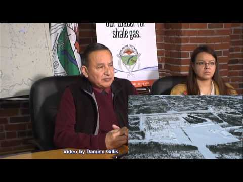 Fort Nelson First Nation - Press Conference - November 13, 2012