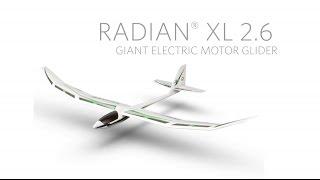 assembling the e flite radian xl 2 6m bnf basic