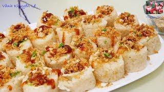 XÔI CUỐN - Cách nấu XÔI CẤP TỐC bằng Nồi Cơm Điện thơm ngon dẻo mềm by Vanh Khuyen