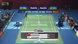 Yonex Sunrise Hong Kong Open 2015 | Badminton SF M1 to M5
