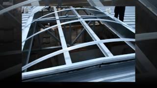 www.poliweglan.com świetliki kalenicowe, dachy dwuspadowe, obory, świetliki, aluminium