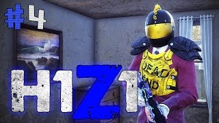 JUMPED OUT OF HIS CHAIR!! H1Z1 Battle Royale #4