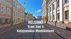Helsingin raitiolinja 4 Katajanokka-Munkkiniemi (monikameratoteutus)