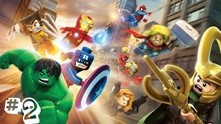 прохождение Lego Marvel Superheroes часть #2