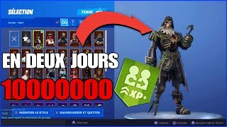 FORTNITE SAISON 8 HAVE THE BLACK COOR SKIN AT MAX QUICKLY !!!