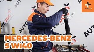 Wie Scheibenbremsen MERCEDES-BENZ S-CLASS (W140) wechseln - Online-Video kostenlos