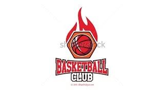 Basket Ball Logo Icon - Illustrator Tutorials