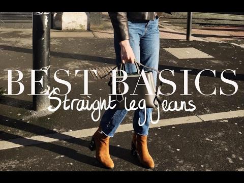 Testing Basics   Straight Leg Jeans