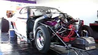 MIke Moran Turbo Monte 2-Step Test in the pits