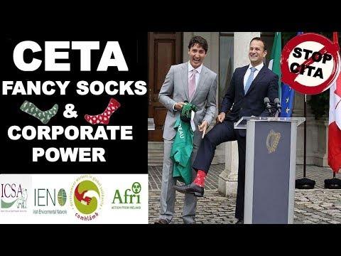 CETA, Fancy Socks & Corporate Power