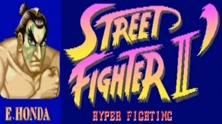 Street Fighter II - Hyper Fighting - E. Honda (Arcade)