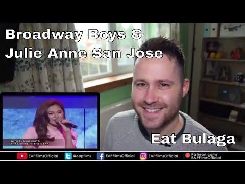 Broadway Boys & Julie Anne San Jose | REACTION