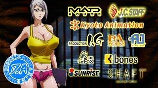 10 Studio Anime Paling Populer dan Terbaik