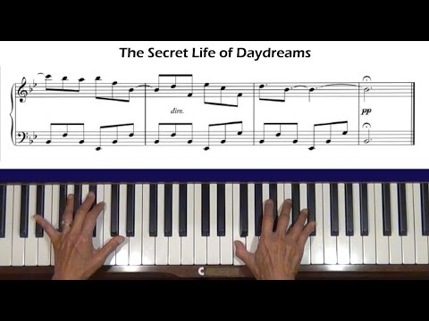 The Secret Life of Daydreams Pride and Prejudice Piano Tutorial
