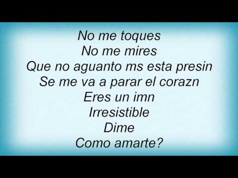 Luis Fonsi - Irresistible Lyrics