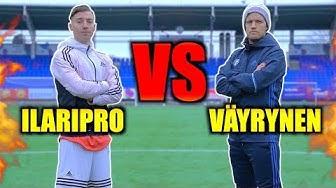 Ilaripro VS Mika Väyrynen - Futishaaste!