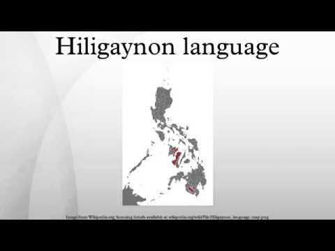 Hiligaynon language