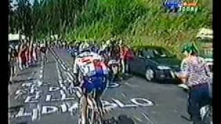 1996 Tour de France - Indurain Cracks