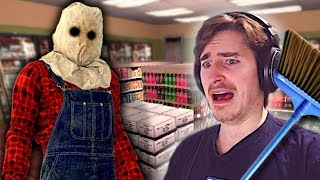 DON'T WORK THE NIGHT SHIFT ALONE! - Night Shift Gameplay - Convenience Store Horror Game
