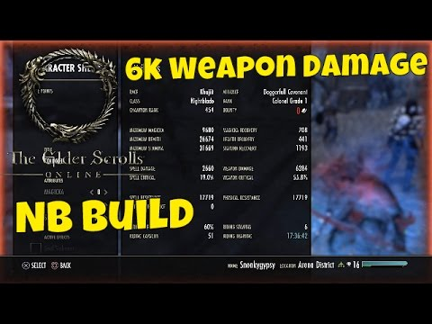 Eso Best Stam Bow Build