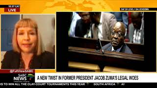Reaction to Mabuza Attorneys' decision to part ways with Zuma: Karyn Maughan